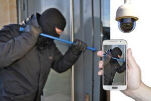 Sicurezza ladro furto casa