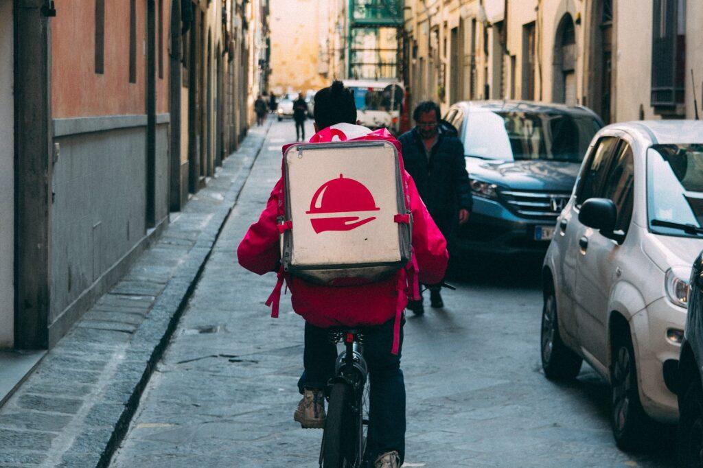 food delivery consegne a domicilio cibo