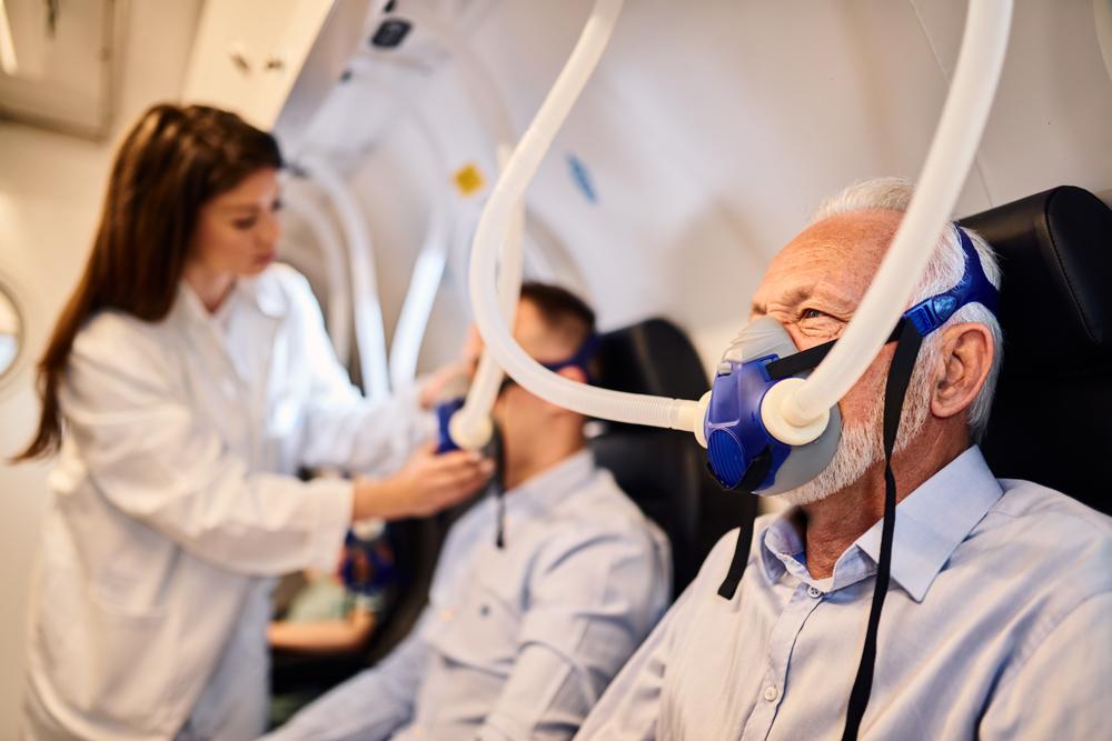 Trattamento con ossigeno iperbarico per rallentare invecchiamento