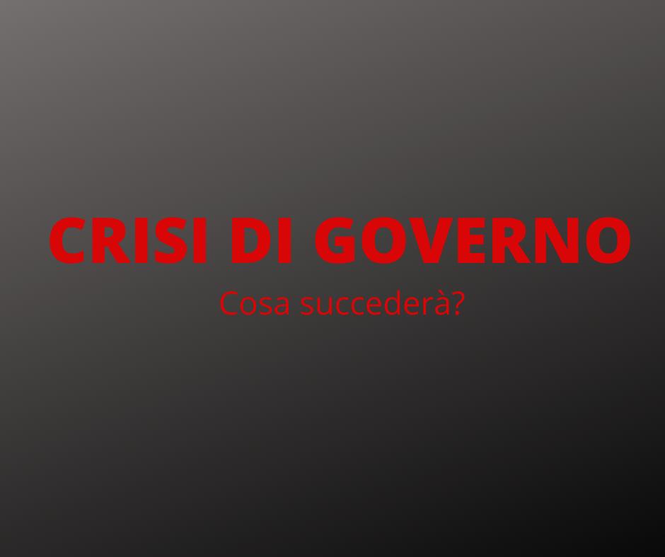 Crisi di governo: Conte dà le dimissioni