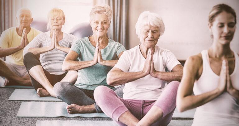 Esempio dei benefici dello yoga
