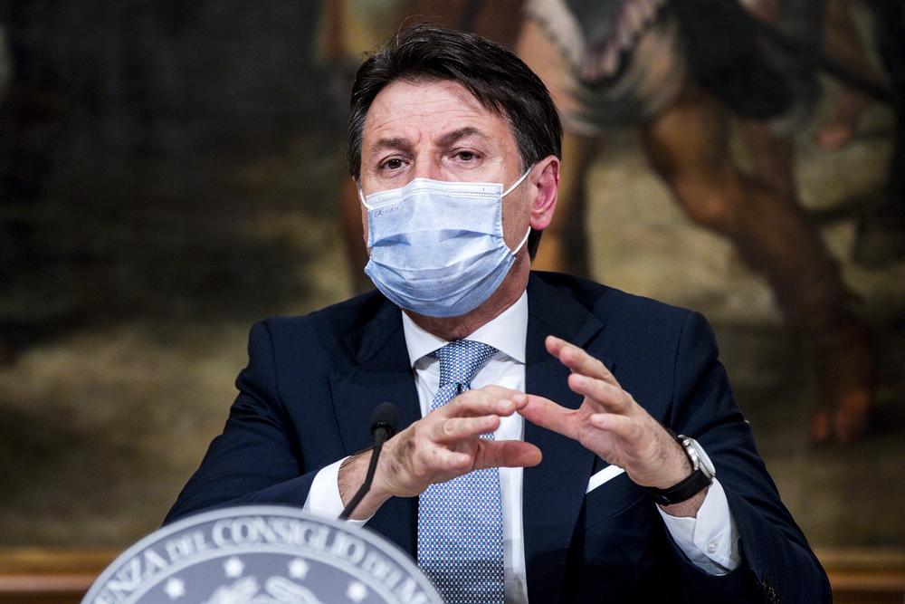 Giuseppe Conte, annuncio Dpcm di gennaio