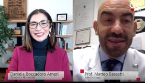 Intervista a Matteo Bassetti su stato dei vaccini e varianti del Covid