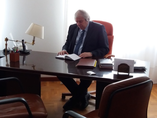 Mauro Cauzer, coautore de La stagione del raccolto
